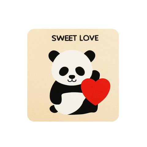 Открытка Panda