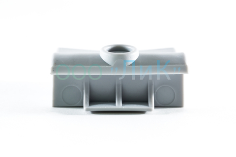 Латодержатель на трубу 63 мм диаметр 25 серый