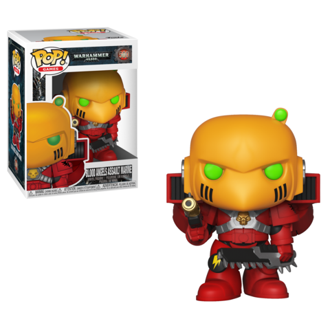 FUNKO POP! Vinyl: Games: Warhammer 40K: Blood Angels Assault Marine 38325