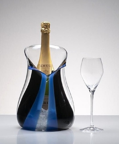 Champagne Cooler Blue