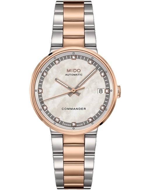 Часы женские Mido M014.207.22.116.80 Commander