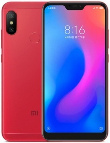 Смартфон Xiaomi Mi A2 Lite 4GB/64GB (Red-Красный)