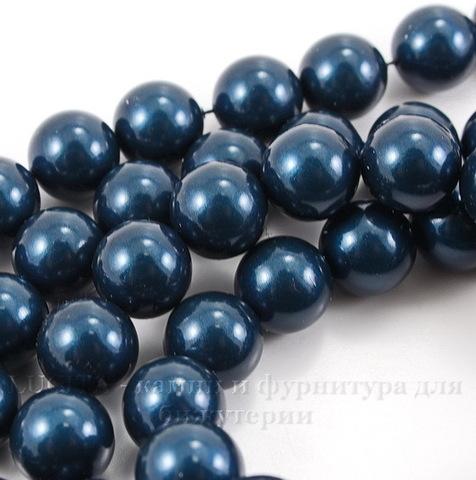 5810 Хрустальный жемчуг Сваровски Crystal Petrol круглый 8 мм , 5 шт (Crystal Petrol 2)