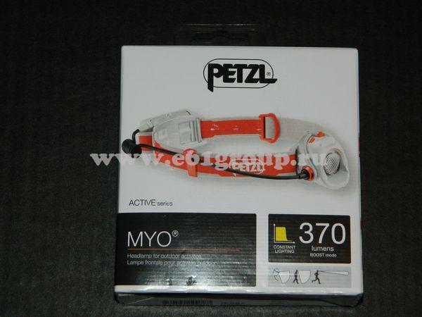светодиодный фонарь Petzl MYO отзывы