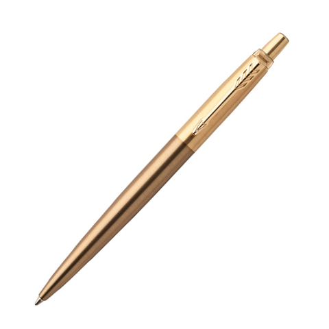 Ручка шариковая Parker Jotter Premium West End Gold Brushed Gold