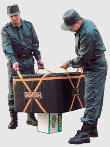 Локализатор взрыва Фонтант-2 мобильный (модели 05У, 10У, 20У, 3М2, 50М)