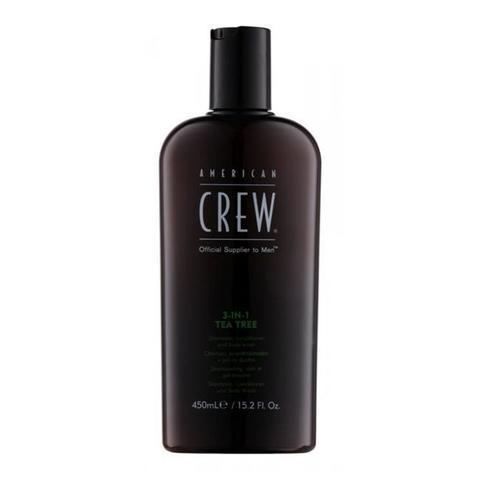 American Crew 3 in 1 Tea Tree 450 ml
