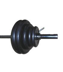 Штанга тренировочная (25мм) 75кг (Комплект)