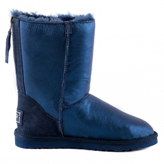 UGG Zip Metallic Navy