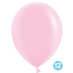 Шар (12''/30 см) Макарунс, Светло-розовый, пастель, 100 шт.