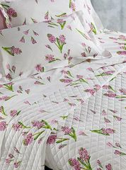 Постельное белье 1.5 спальное Mirabello Primi Fiori фиолетовое