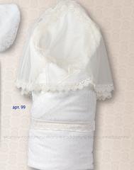 Sdobina. Одеяло-конверт меховой для новорожденного