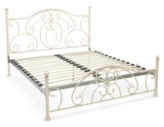 Кровать 9701 200x160 (MK-2208-AW) Античный белый