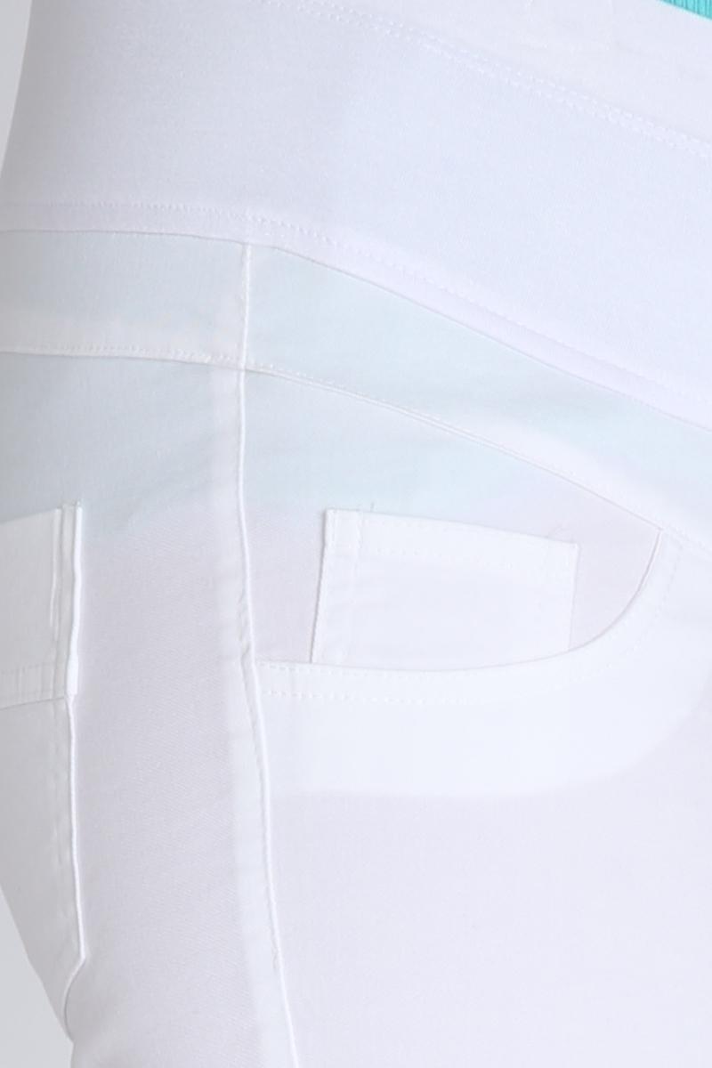 Брюки 08577 белый