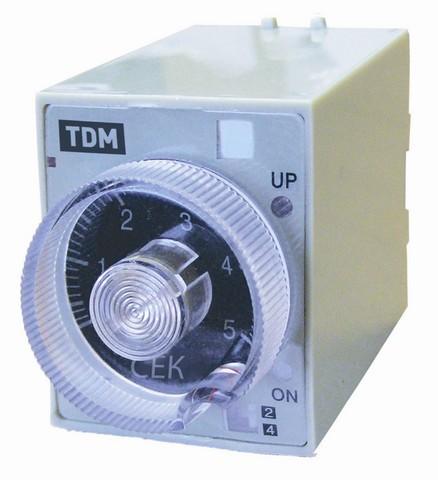 Реле времени РВ3G-4мин/24час-5A-24/220В-8Ц TDM