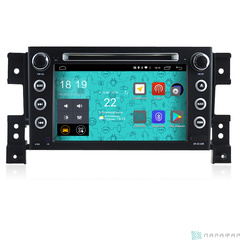 Штатная магнитола 4G/LTE с DVD для Suzuki Grand Vitara 12-15 Android 7.1.1 Parafar PF053D