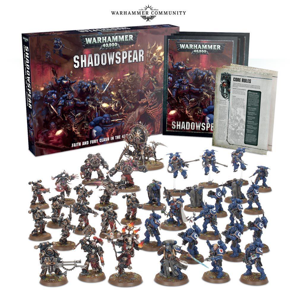 Shadowspear. Набор для двоих игроков