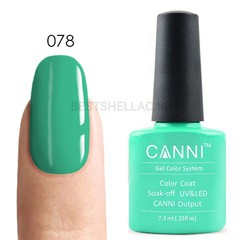 Canni, Гель-лак 078, 7,3 мл