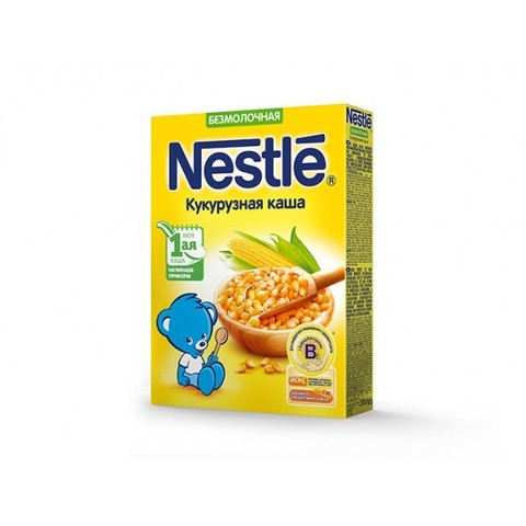 Nestlé® Безмолочная кукурузная каша 200гр
