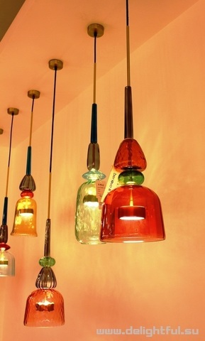 Chandalier Flauti 2 by Giopatto & Coombes