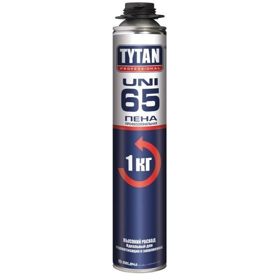 Пена монтажная профессиональная Tytan Professional 65 Uni / Титан Профессионал 65 Уни