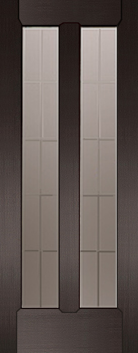 Дверь межкомнатная,Россич,Пегас ДО, Цвета: Дуб черный, Беленый дуб