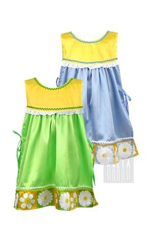 Фото Матрешка Ромашка - сарафан - накидка рисунок Аксессуары для костюма, чтобы ваши праздники стали разнообразнее при меньших расходах на покупку нарядов!