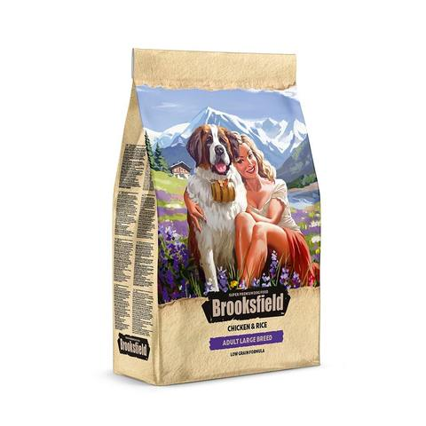 Сухой корм Brooksfield Low Grain Adult Dog Large Breed