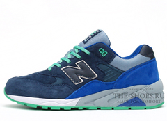 Кроссовки Мужские New Balance 580 Elite Edition Navy Blue Grey Turq