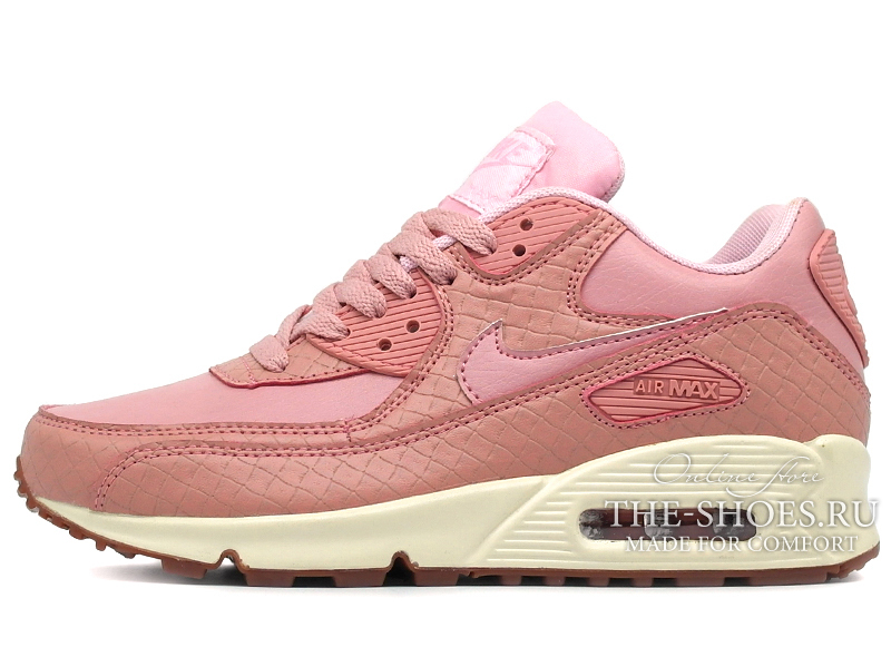 acc53c8d8418 Кроссовки Женские Nike Air Max 90 Essential Pink