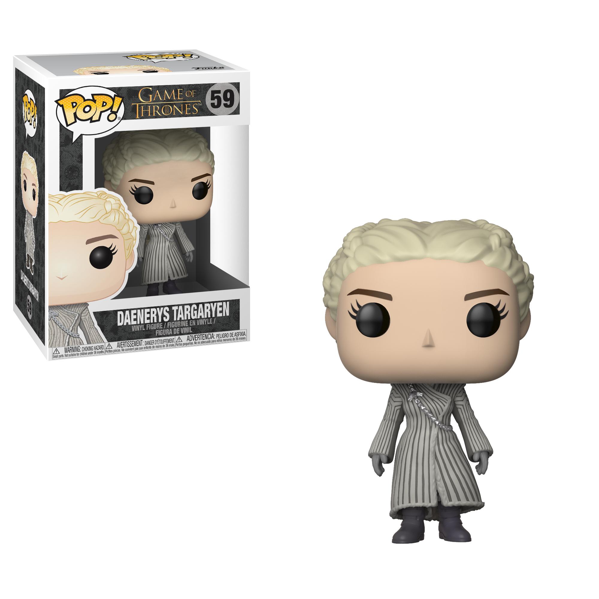 Фигурка Funko POP! Vinyl: Game of Thrones S8: Daenerys (White Coat) 28888