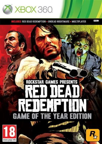 Xbox 360 Red Dead Redemption - Game of the Year Edition (английская версия)