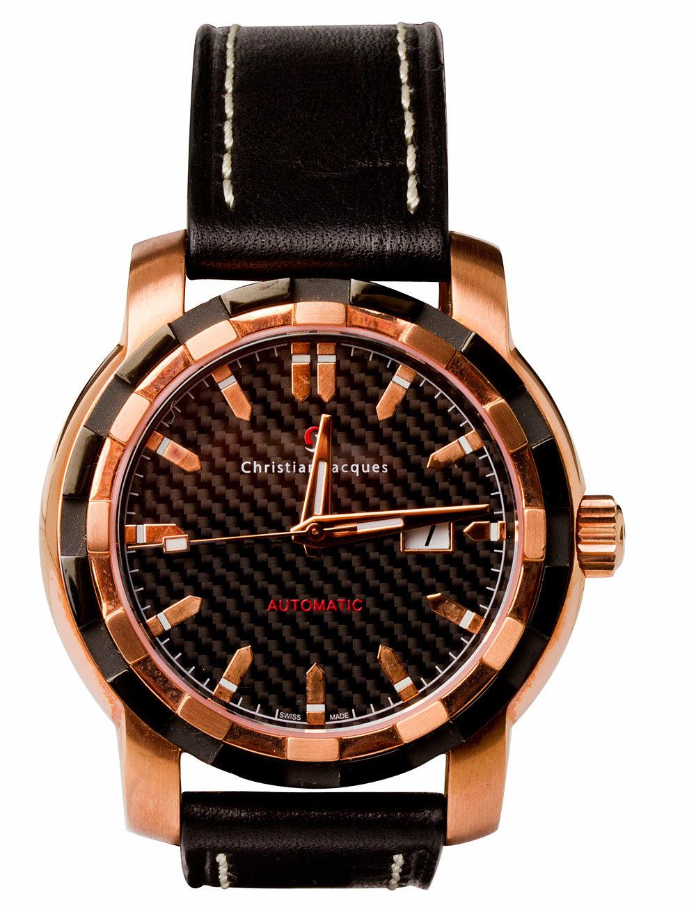 Часы мужские Christian Jacques EX2553 Aviator, Explorator, Virtus