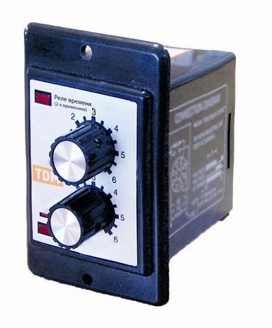 Реле времени циклическое РВ51-2Т-60х60cек-5А-220В-8Ц/Щ TDM