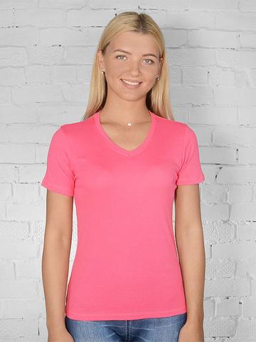 021-27 футболка женская, розовая