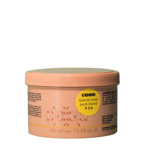 Маска Цеко Проф 3-6 для обесцвеченных и осветленных волос 400мл