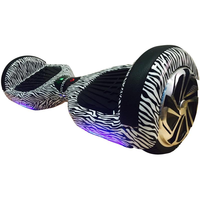 черно белый гироскутер