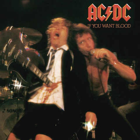 AC/DC / If You Want Blood You've Got It (LP)