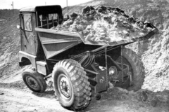 Tractor Dutra DR-50D dumper 1:43 Hachette #68