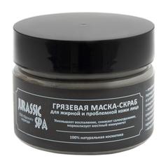 Маска-скраб для жирной и проблемной кожи лица - Jurassic Spa - 100 мл