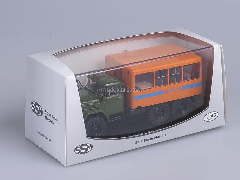 ZIL-131 Watch Bus khaki-orange 1:43 Start Scale Models (SSM)