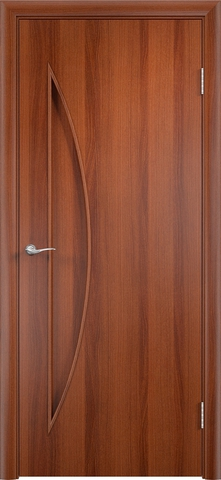 Дверь Верда C-6, цвет итальянский орех, глухая