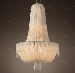 Люстра FRENCH CRYSTAL BEADED Restoration Hardware 68290757