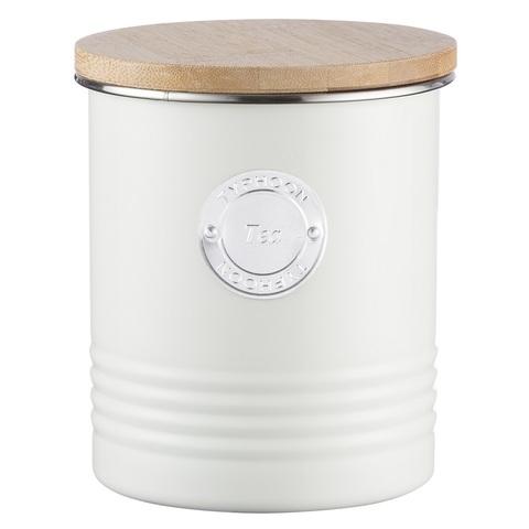 Емкость для хранения чая Living белая 1 л