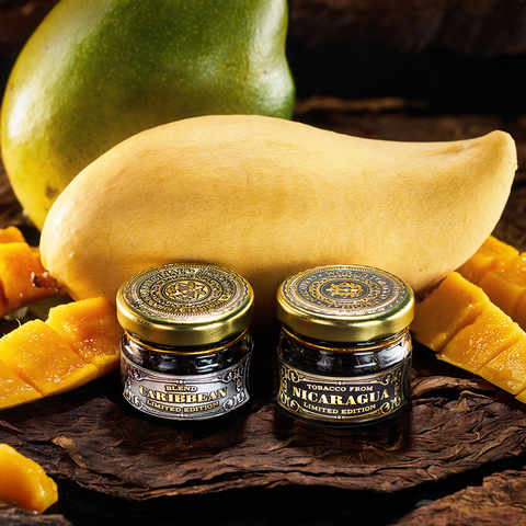 Табак WTO Caribbean Blend Mango (ВТО Карибский Бленд Манго) 20 г