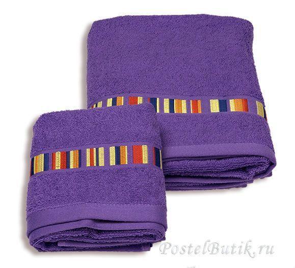 Наборы полотенец Набор полотенец 2 шт Caleffi Yupi фиолетовый elitnoe-mahrovoe-polotentse-yupi-fioletoviy-ot-caleffi-italiya.jpg