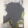 Комплект термобелья для малышей из шерсти мериноса (боди + ползунки)
