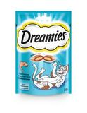 Dreamies Лакомство для кошек с лососем 10х30 г. (10140139)