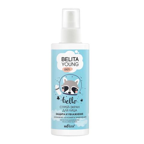 Белита Belita Young Skin Спрей-экран «Защита и увлажнение» для лица 115мл