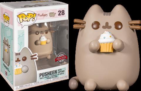 Фигурка Funko Pop! Pusheen - Pusheen with Cupcake (Excl. to Target)